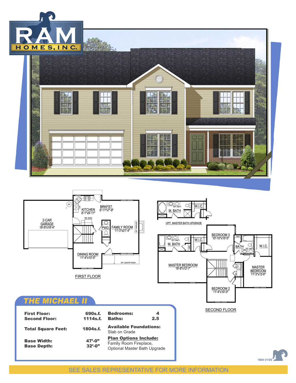 Ram Homes Michael 2 Plan