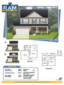 1715 custom home in greensboro